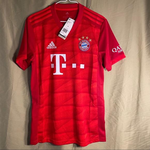 Adidas Men's Bayern Munich Jersey 19-20 DW7410 New